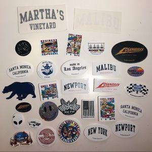 80 RARE Brandy Melville Stickers